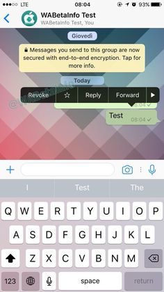 WhatsApp Beta Update Soon Allow user to Edit and Revoke Send Messages