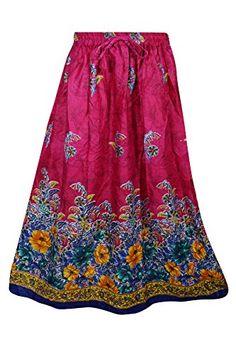 Mogul Womans Festive Skirt Floral Printed Pink A-Line Fla... https://www.amazon.com/dp/B075KPPJSL/ref=cm_sw_r_pi_dp_x_MYe1zbGA0NXZH