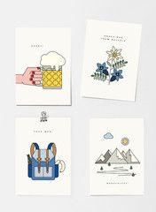 FYFY — FYFY Postkarten Set