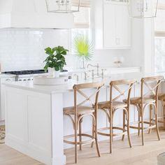 Dayna Stools In 2019 All White Kitchen Home Decor