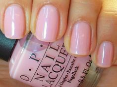 OPI-I pink I love you....for Bean so that we can match!