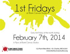 "Friday, February 7th, 2014 will mark the start of a new tradition for Blank Canvas Studios. We will be hosting our first ever First Friday at our on-site gallery, ""Off the Wall Outsider Art Gallery."" The show, entitled ""The Abbott Brothers Circus"" will feature two BCS artists and real-life brothers, Larry and AJ Abbott. The show begins at 6p.m. in our gallery. There will be snacks, music, and lots of art!"