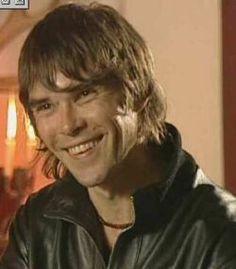Ian brown....smiling?!?
