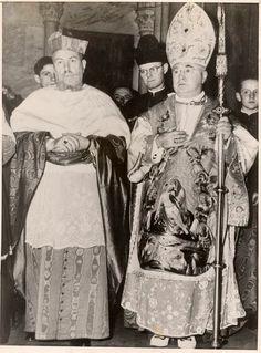 Cardinals Tisserant and Spellman