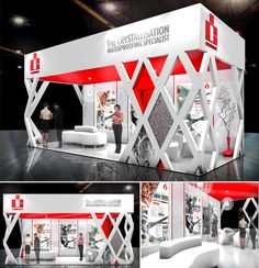 Exhibitions - Small by a.d.a.m exhibitions at Coroflot.com #exhibitdesign #tradeshow #eventprofs