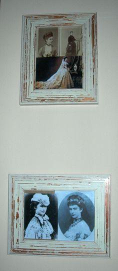 """Sissi in """"cornice"""": foto e ritratti risalenti al periodo 1867-1870, dalla mia collezione personale."""