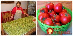 Obrali sme už všetky plody, nezrelé aj tie polodozreté. Dokážu dozrieť aj keď majú menej svetla. Nám sa to tento rok skvele vydarilo a namiesto zelenej pohromy sme mali nakoniec krásne červené paradajky. Poradím ako Vegetables, Food, Essen, Vegetable Recipes, Meals, Yemek, Veggies, Eten