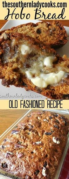 An old-fashioned delicious bread recipe that goes wonderful with your morning coffee or serve it at any holiday or gathering. An old-fashioned delicious bread recipe that goes wonderful with your morning coffee or serve it at any holiday or gathering. Fruit Bread, Dessert Bread, Baking Recipes, Dessert Recipes, Desserts, Tasty Bread Recipe, Hobo Bread Recipe, Quick Bread Recipes, Recipe Recipe