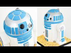 Como hacer una Torta de R2-D2 ☆ Tan Dulce - YouTube
