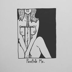 "1,516 Likes, 17 Comments - Matt Bailey (@baileyillustration) on Instagram: ""Penetrate Me."""