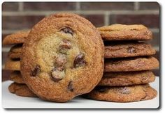 Chocolate Chip Cookies - Joanne Chang's recipe (from Boston's Flour Bakery and Cafe)