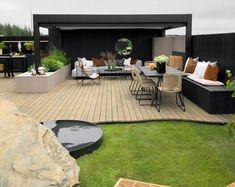 TV GARDEN DESIGN – TV2 2021 Outdoor Pergola, Outdoor Rooms, Outdoor Gardens, Outdoor Decor, Backyard Garden Design, Balcony Garden, Scandinavian Garden, Tv Decor, Small Spaces