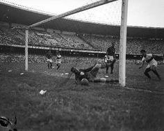 Gol de Duca contra a Lusa - 1955 - no Maracanã, Flamengo 1x1 Portuguesa-SP