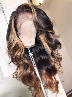 Customized Romance hair loose wave front lace wig pre-plucked Middle part glueless unprocessed virgin human hair,color wig,wigs Short Hair Styles Easy, Medium Hair Styles, Curly Hair Styles, Natural Hair Styles, Natural Wigs, Easy Hairstyles For Medium Hair, Bob Hairstyles, Best Lace Wigs, Human Hair Wigs