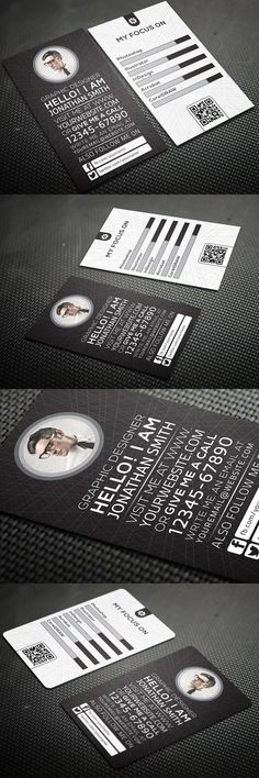 Creative Personal Business Card #businesscards