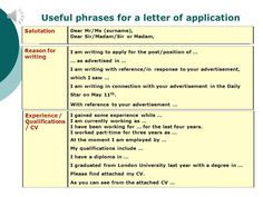 How to write formal or email letters