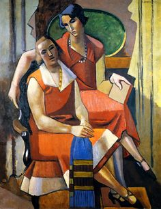 Two Friends - Andre Lhote 1927