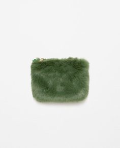 Image 1 of FAUX FUR MINI BAG from Zara