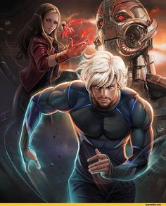 Age of Ultron, Quicksilver & Scarlet Witch