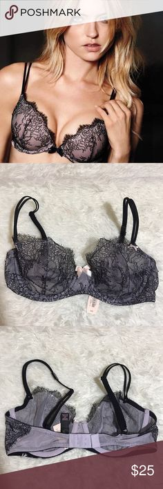 VS 32D Unlined Demi Bra Unlined underwire, not exactly same as front picture Victoria's Secret Intimates & Sleepwear Bras