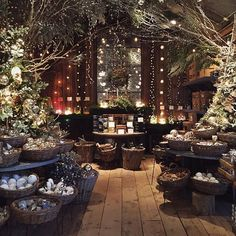 The stores are looking magical in preparation for this Saturday's Holiday Open House! #terrainevents