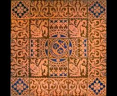 victorian architect - Pugin  tiling