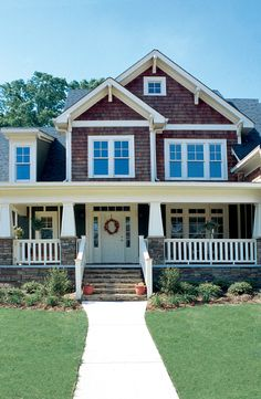 Home Plans HOMEPW11390 - 2,338 Square Feet, 4 Bedroom 3 Bathroom Craftsman Home with 2 Garage Bays and front porch