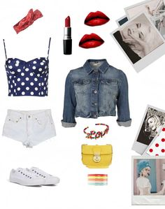 My kind of outfit! The 80's.