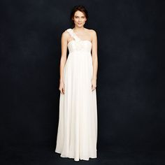 Fashionably Clearance wedding gown! J.Crew Carys Gown, originally $1,150, on sale for $480
