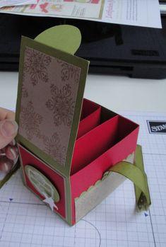 Eine Anleitung für diese ATC-Box von Jenni Pauli /paulinespapier.de