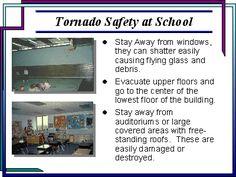 Tornado safety at school