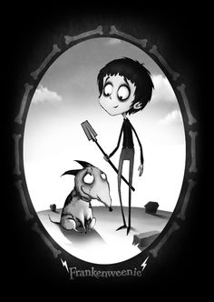 Frankenweenie by Seb Mesnard  (I really hope the remake Mr. Burton is doing of this is good)