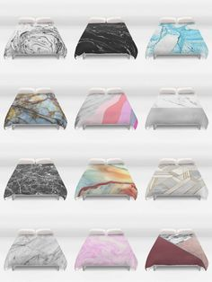 Society6 Marble Duvet Covers - Society6 is home to hundreds of thousands of artists from around the globe, uploading and selling their original works as 30+ premium consumer goods from Art Prints to Throw Blankets. They create, we produce and fulfill, and every purchase pays an artist.