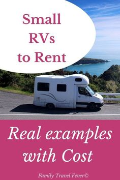 Small RVs can still be surprisingly cozy and offer mobility and freedom you can't enjoy from a larger model. In fact, going for a little less space inside may mean opening up more options on travel day. For example, campervans are built on a van chassis and fit right in any parking space. We cover why rent a small RV, how much will it cost to rent a small RV,m what types of RVs are small (campervan, class C, travel trailer, teardrop) and give you real Camping With Kids, Family Camping, Rv Camping, Travel With Kids, Family Travel, Ways To Travel, Rv Travel, Travel Tips, Rent Rv