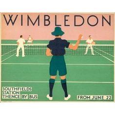 £14.95 Vintage Wimbledon poster