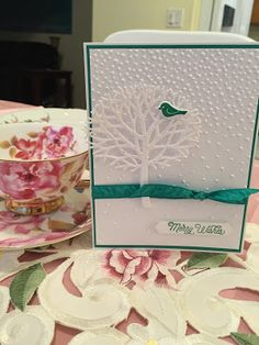 STAMPER GYRL: SU-Thoughtful Branches Bundle!.  (Pin#1: Nature: Trees.  Pin+: Christmas: Wintery Scene).