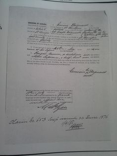 An example of Metis Scrip given to the head of a family