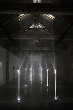 Troika: bent light archway arcades project at interieur 2012