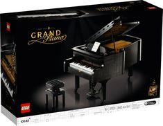 Grand Piano 21323 | Ideas | Buy online at the Official LEGO® Shop US Lego Sets, Lego Building Sets, Model Building Kits, The Piano, Grand Piano, Legos, Modele Lego, Construction Lego, Pianos