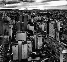 Avenida Prestes Maia em Santo André, SP