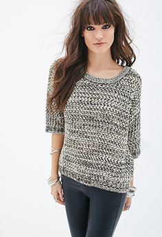 Boxy Knit Sweater | FOREVER21 - 2000134692