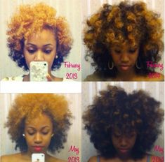 "27 Natural Hair Progression Photos To Inspire Your Hair Journey. When you're starting out on your natural hair journey you may need a little inspiration. Getting the ""big chop"" c… 4a Natural Hair, Be Natural, Natural Hair Growth, Natural Hair Journey, Natural Hair Styles, Natural Girls, Natural Life, Pelo Afro, Natural Hair Inspiration"