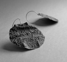 Iliana Tosheva. Earrings: Untitled, 2015. Sterling silver.