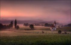Morgennebel... von Manfred Unsinn