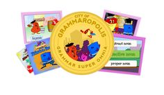 Grammaropolis- This site is amazing. TONS of resources for any grade (even older kids will like the short cartoons about the parts of speech!)
