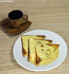 Shahi Tukra (lub Shahi Tukda) - pod taką nazwąw północnych Indiach i Pakistanie znany jest deser przygotowywany z białego pieczywa oraz aromatyzowanego kardamonem i szafranem zagęszczonego mleka. Królewska porcja,gdyż tak można tłumaczyć nazwę dania, wsk French Toast, Breakfast, Food, Morning Coffee, Essen, Meals, Yemek, Eten
