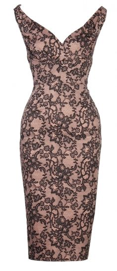 I love lace, cotton, chiffon and leather. This is gorgeous