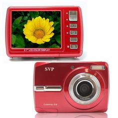 "Cybersnap 1018 18MP 2.7"" LCD Digital Camera (Red) by SVP. $49.99. Cybersnap 1018 18MP 2.7"" LCD Digital Camera (Red)"