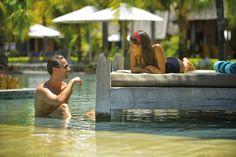 Swimming pool at Trou aux Biches Mauritius