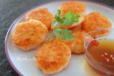 煎蝦餅食譜、作法 | 玫瑰小姐的多多開伙食譜分享